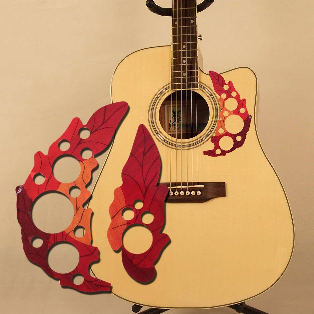 Acoustic Guitar Instrument Pickguard Droplets Or Bird Self Adhesive 41 Inch Pick Guard Pvc Protect Your Classical Guitar Surfa Guitar Pickguard Acoustic Guitar