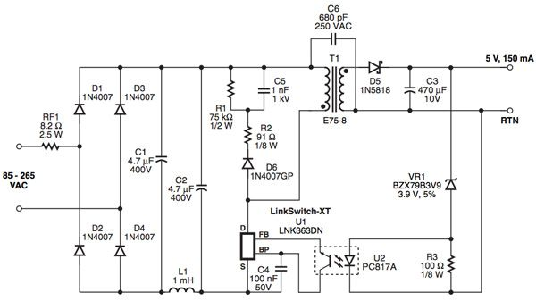 Power Supply Design for Smart Meters Power supply design