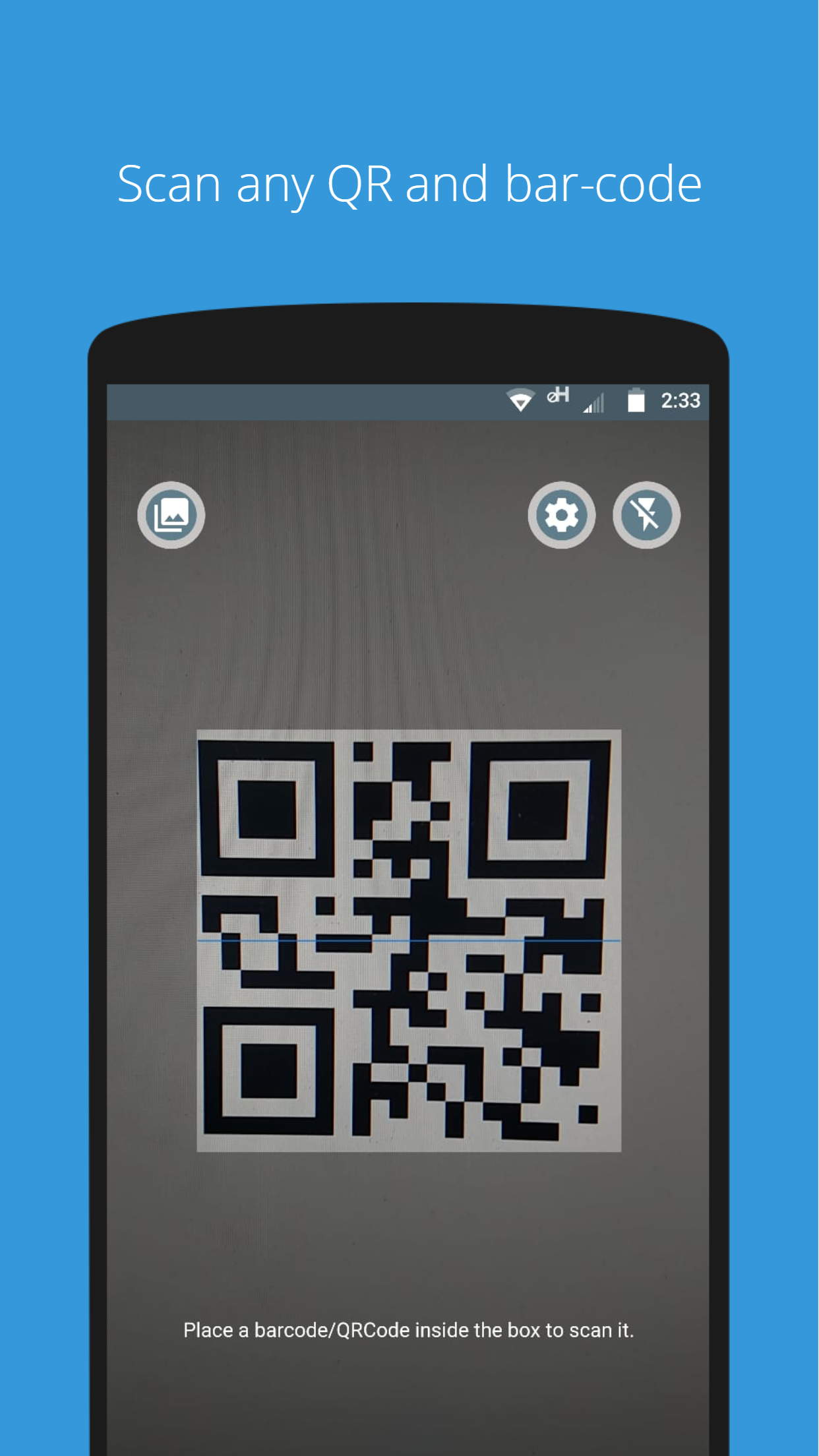 QR Code Scanner is the free version of QR Code Scanner Pro it is the