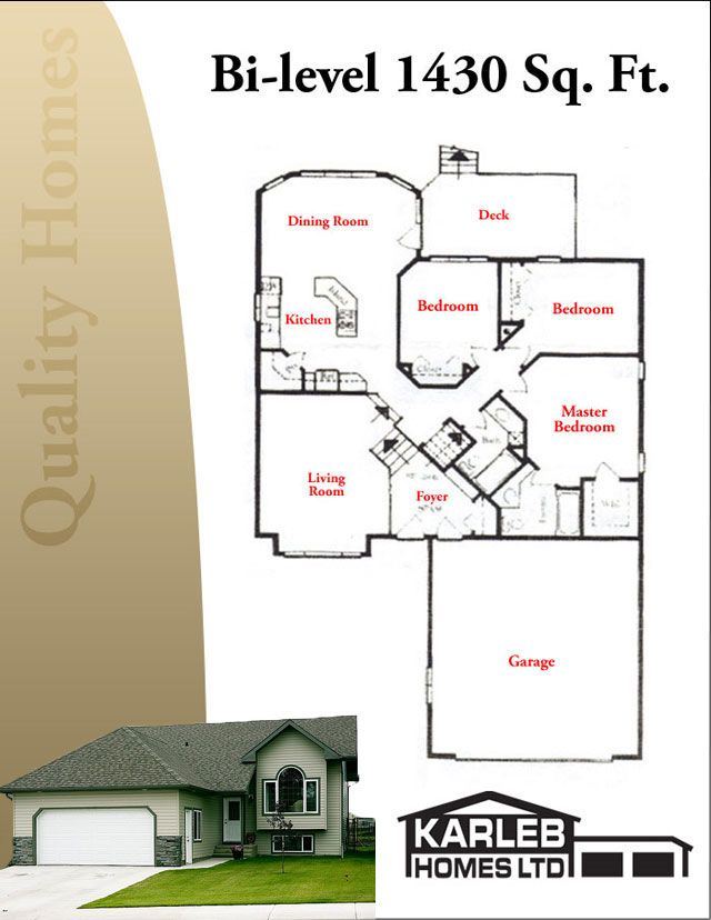 Google image result for for Small bi level house plans