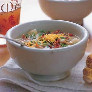 Baked Potato-and-Bacon Soup | MyRecipes.com