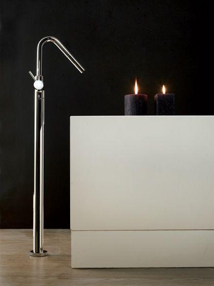 BagnoIdea.com - Miscelatore per vasca da pavimento con doccetta ...