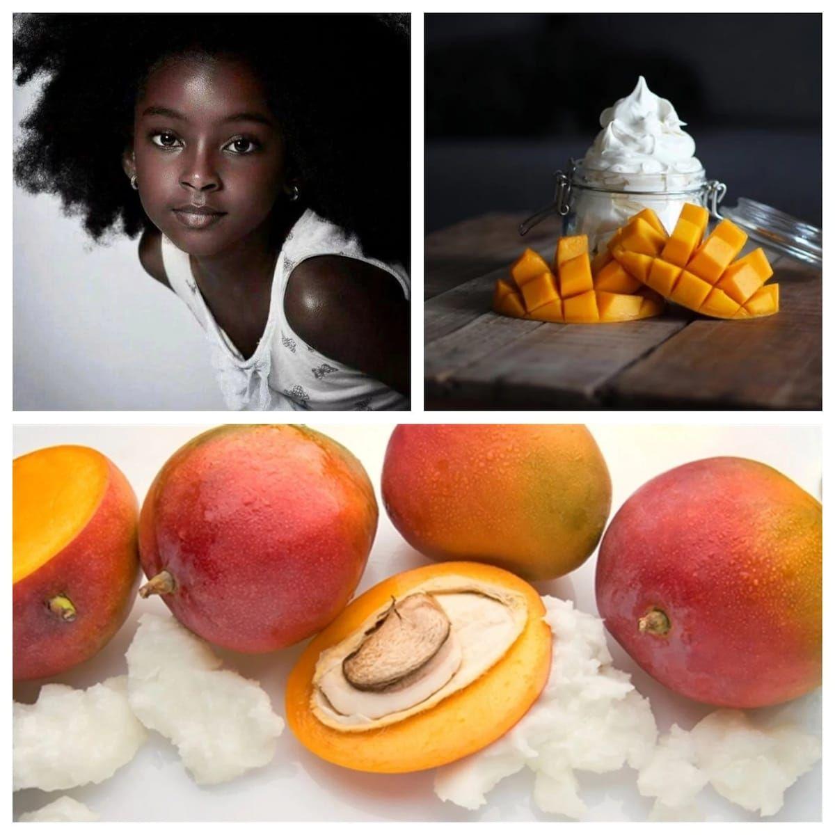 Healthy recipes handmade mango butter mango butter