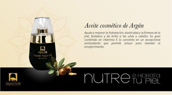 Aceite De Argán Considerado Un Antienvejecimiento Natural Hidratante Y Regenerador Por Su Alto Contenido De Vitamina E Y Antiox Aceite Argan Argan Cosmeticos