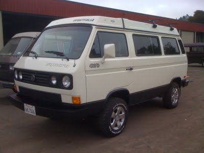 Vanagon Syncro With A Subaru Conversion