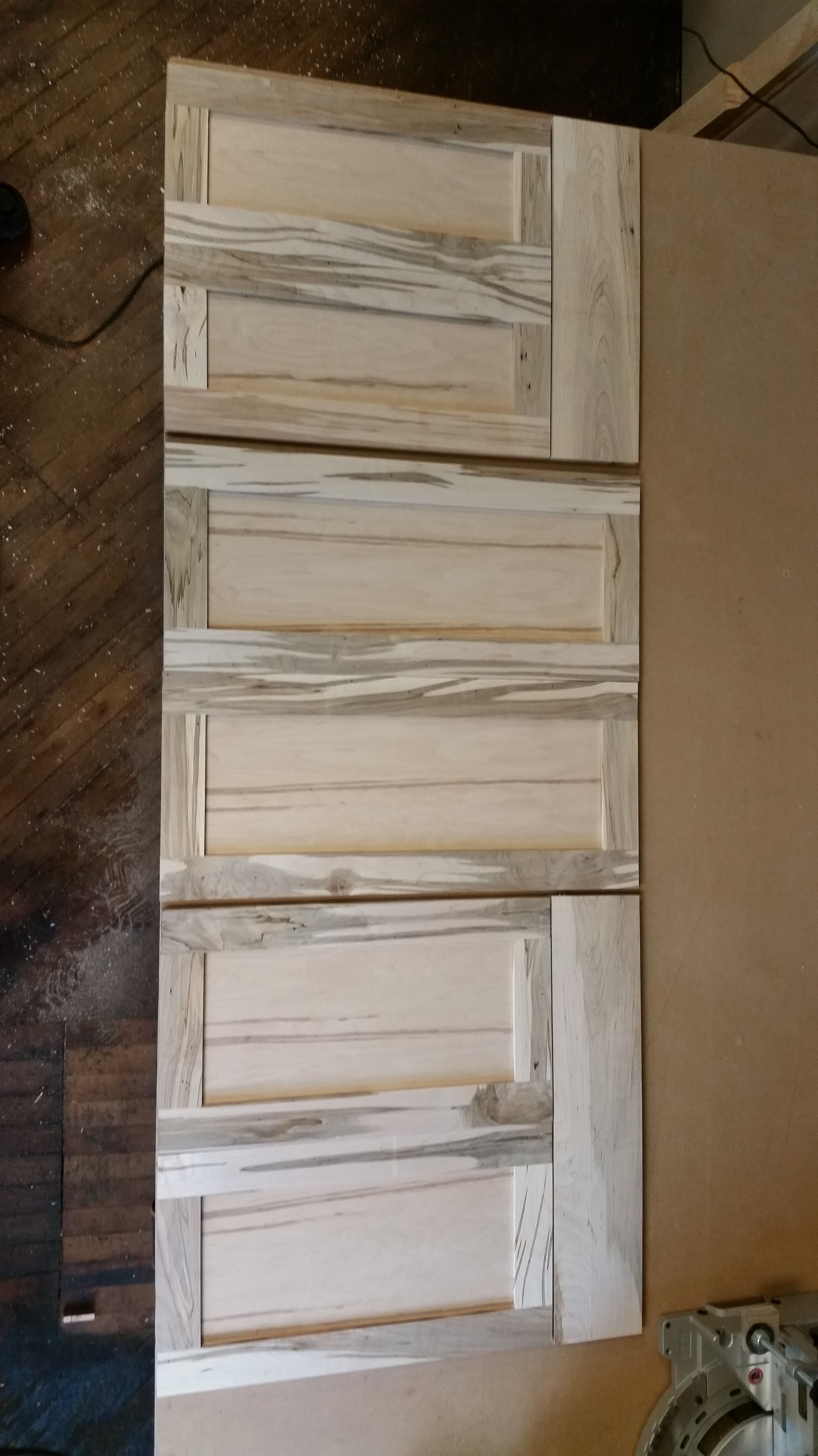 Wormy Maple Doors Custom Woodworking Contemporary Modern Furniture Kitchen Cabinet Design