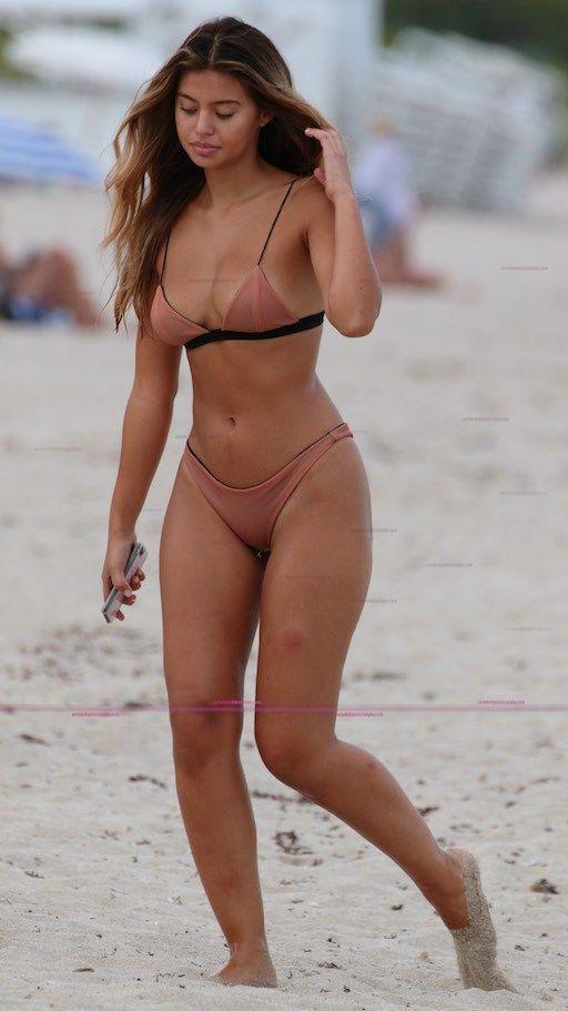 b8226fac17cd7 Sofia Jamora In A Lolli Swim Bikini