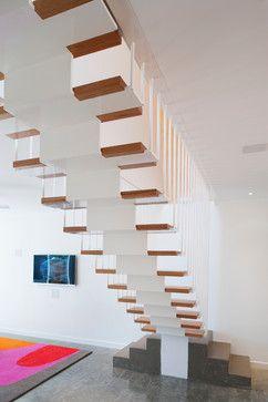 Wareemba House (carterwilliamson architects) - contemporary - Staircase - Sydney - STUDIO e*