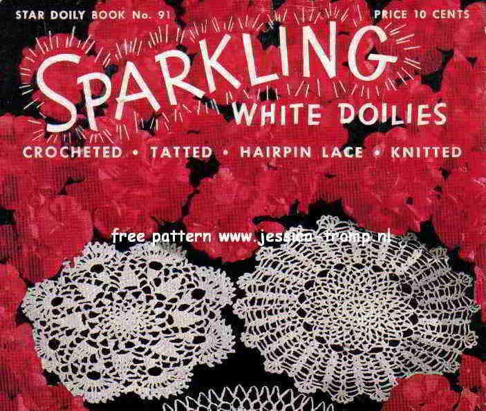 Spider Web Doily Free Vintage Crochet Doilies Patterns Emergency