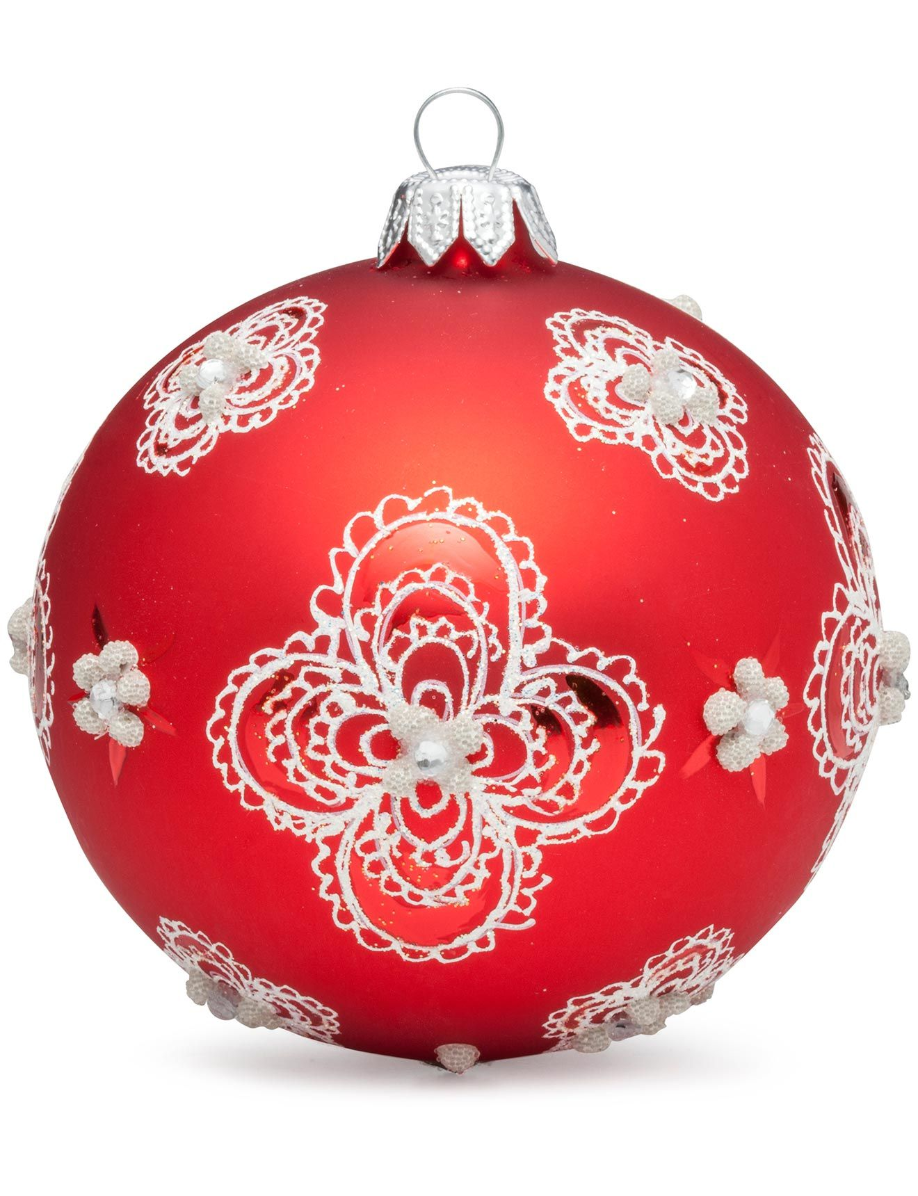 Dagmara Lacy Doilies Ornament 8Cm At David Jones Store #Christmas