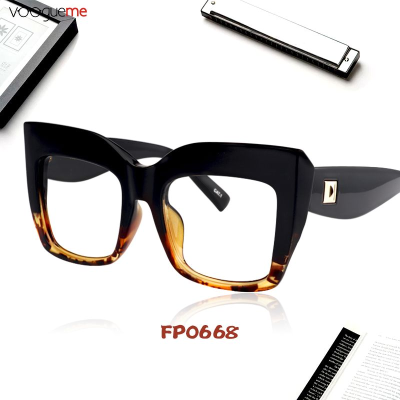 5b900642c03 Cassandra Square Black Tortoise Eyeglasses The oversized square frame