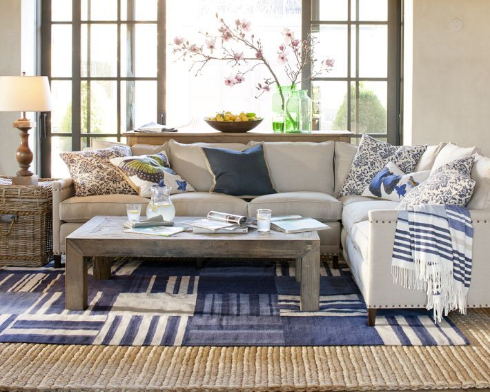 comfy  furniture williams sonoma home family living rooms