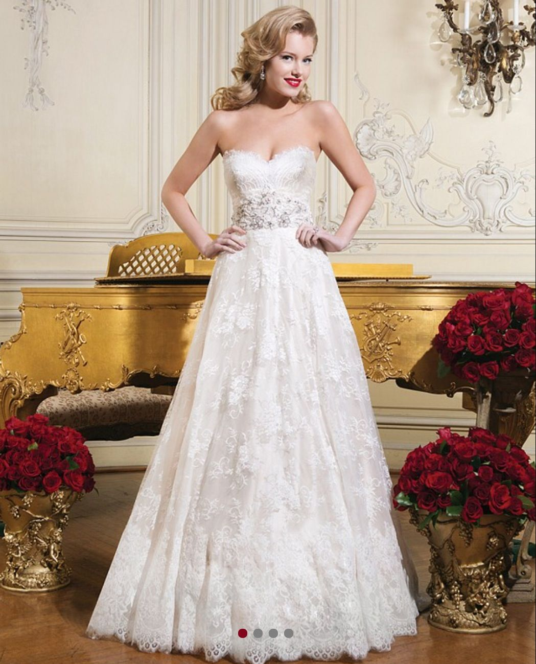 Stunning justin alexander aline bridal gown available to try on at