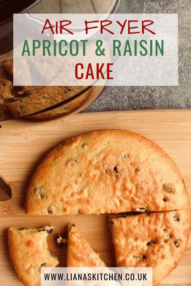 Air fryer apricot and raisin cake recipe raisin cake