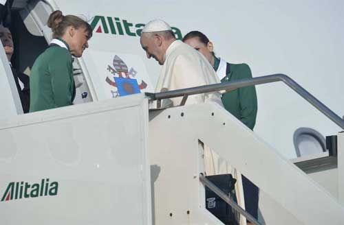 JMJRío -Palabras del Papa Francisco durante vuelo hacia Río de Janeiro