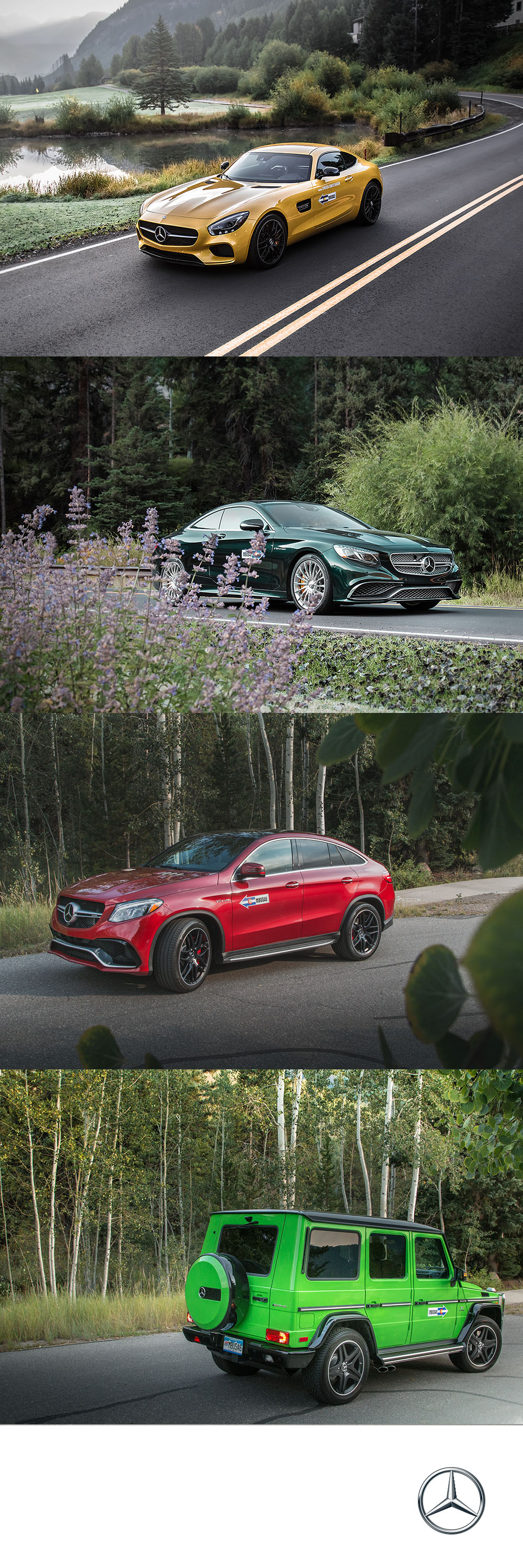 September 14 marked the 20th anniversary of Mercedes Benz sponsoring