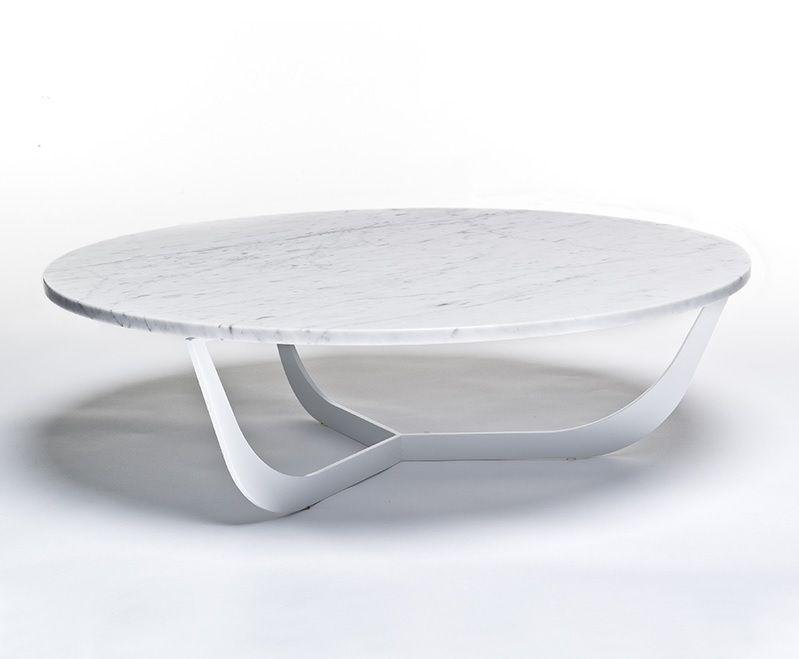 Metaform spindel salontafel marmer woonkamer