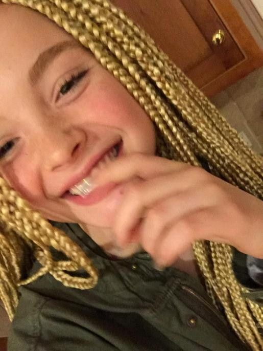 Cute Short Hairstyles For 12 Year Olds Haircuts Gallery Images Blonde Box Braids Cute Hairstyles For Short Hair White Girl Braids