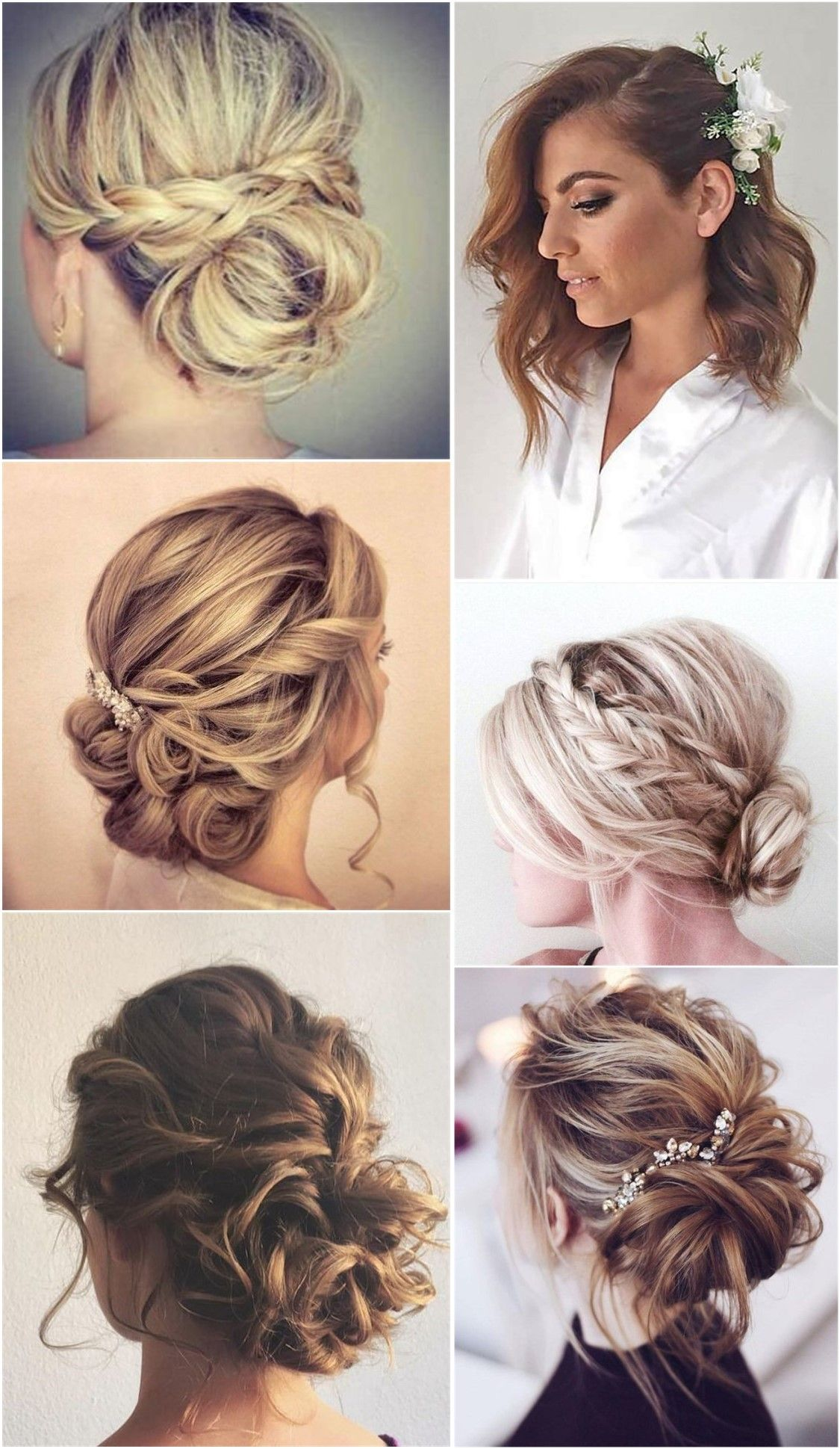 24 Lovely Medium Length Hairstyles For 2020 Weddings Weddinginclude Medium Length Hair Styles Medium Hair Styles Fall Wedding Hairstyles