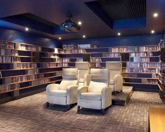 Gorgeous Library Media Room u2026 Pinteresu2026