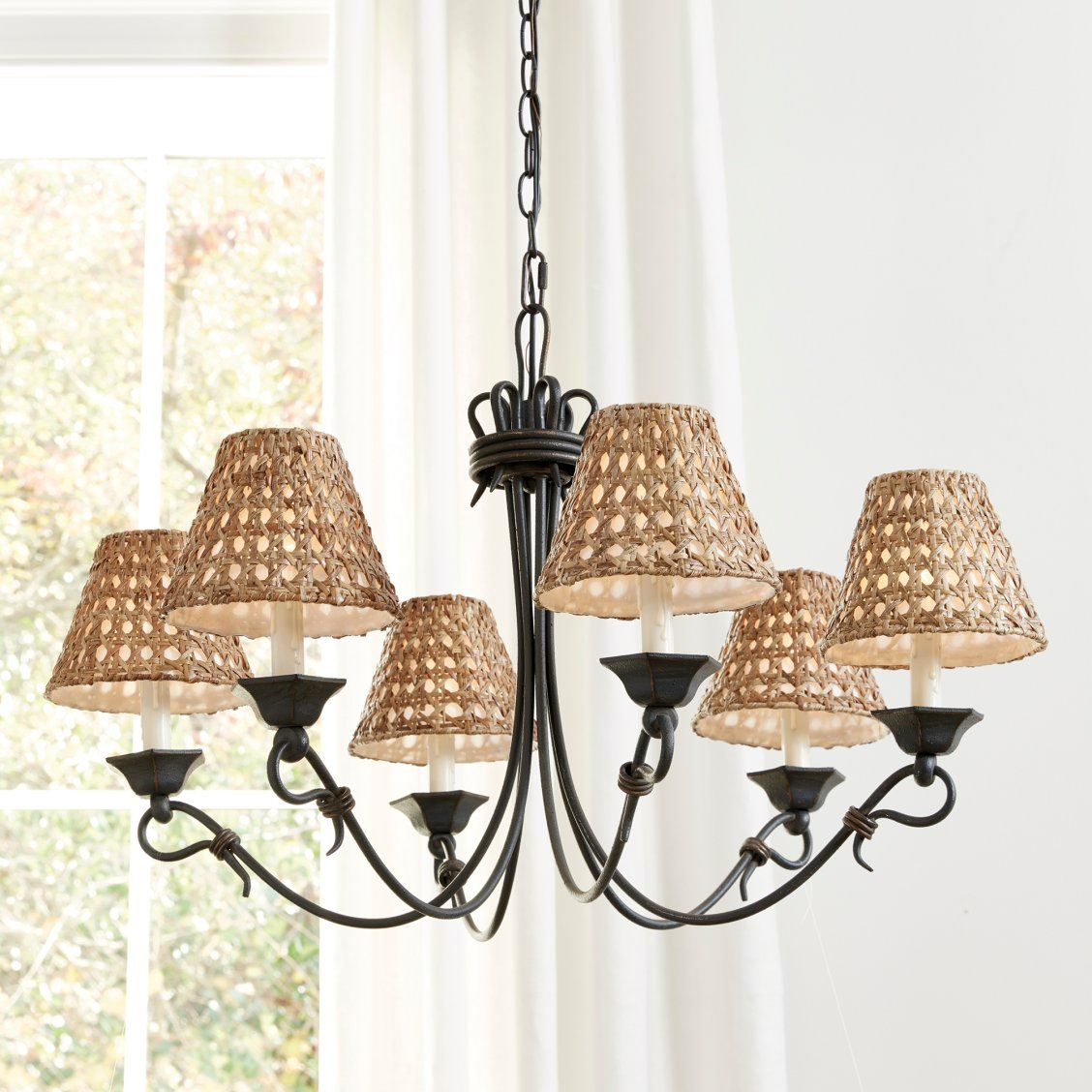 Rattan Chandelier Shade Home Decor Styles Chandelier Shades