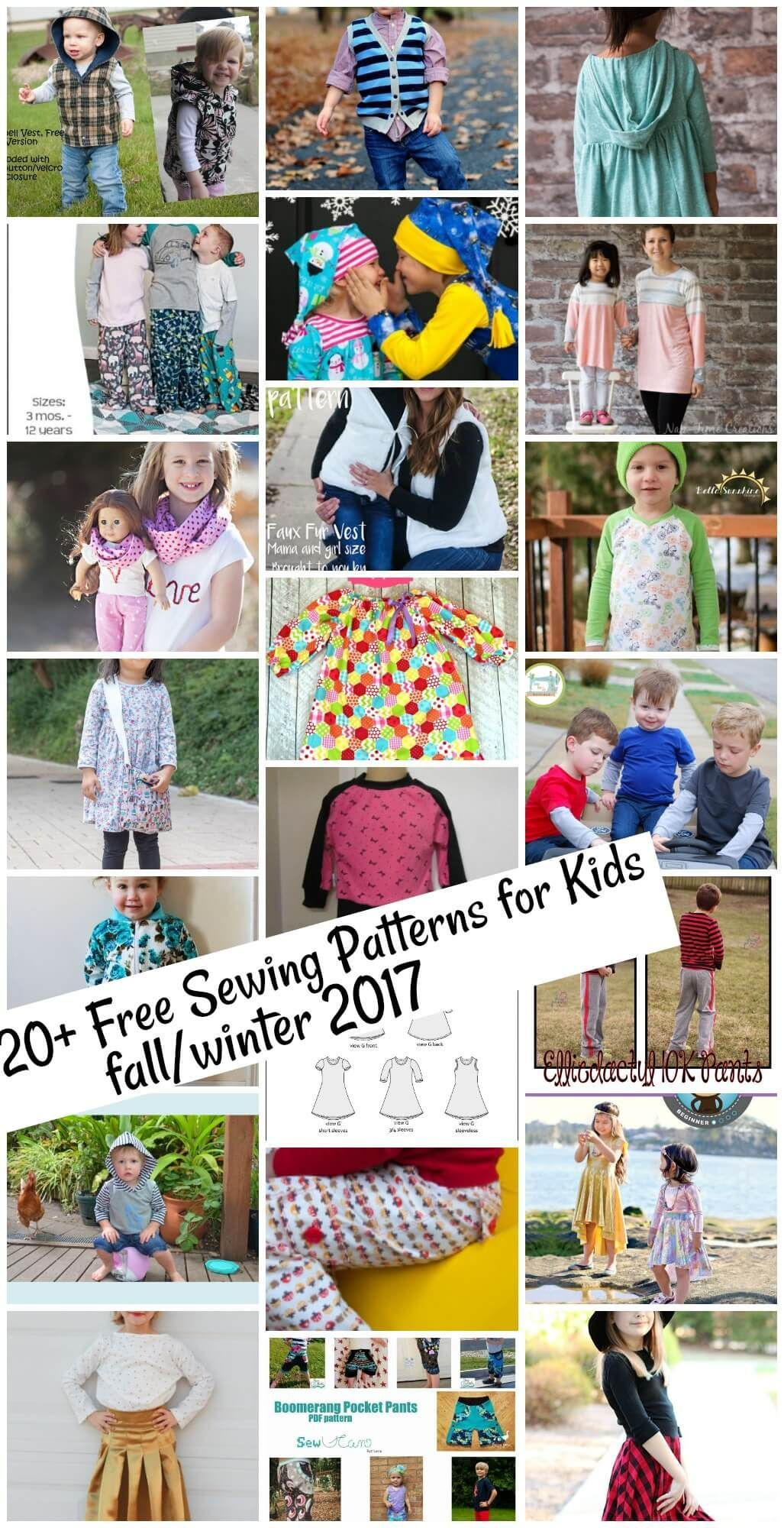 Free sewing patterns for kids fallwinter 2017 children sewing free sewing patterns for kids fallwinter 2017 jeuxipadfo Images