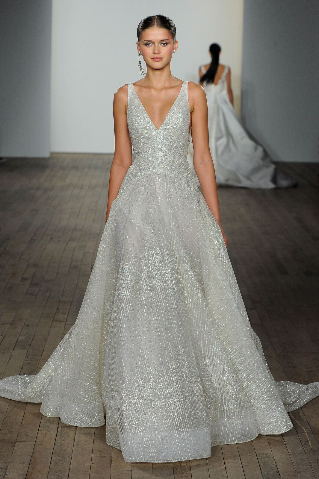 203ceb71 Lazaro style 3908 Celeste | LAZARO Spring 2019 Bridal Fashion Show ...