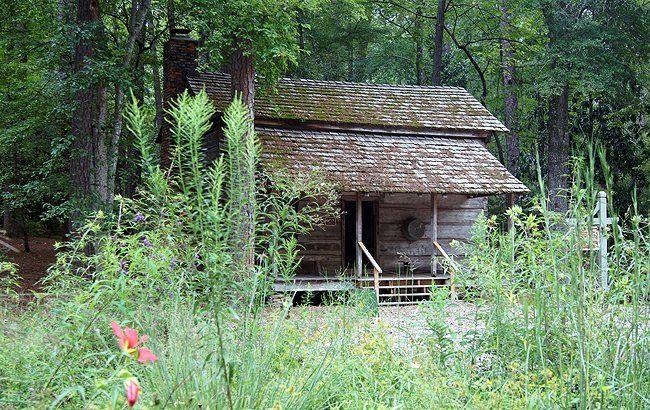 Pioneer Log Cabin Garden Log Cabins Callaway Gardens Log Cabin