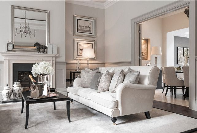 Beautiful Interiors. This home is located in London and it has beautiful  interiors. #