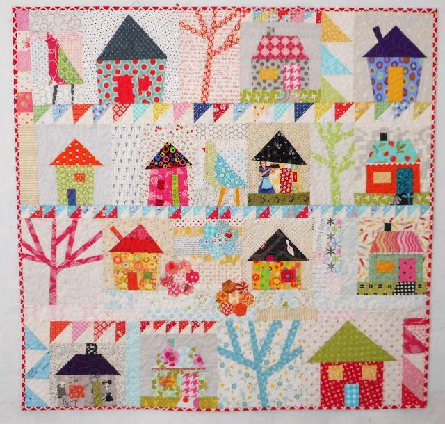 Pinkadot Quilts | Pictorial Quilts: Landscape | Pinterest | House ... : pictorial quilt blocks - Adamdwight.com