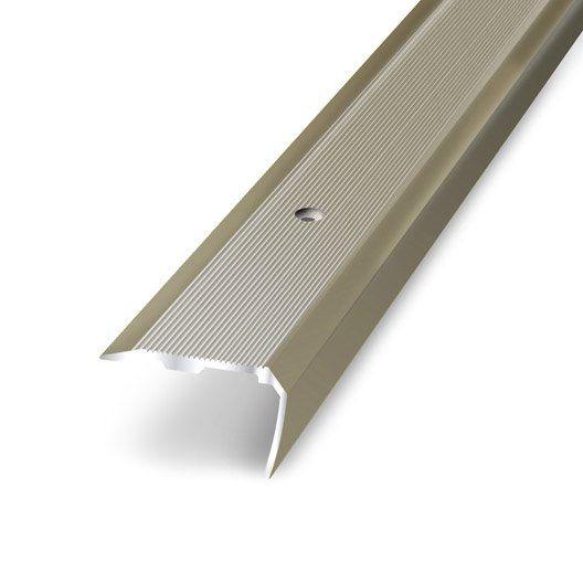 Nez De Marche Aluminium Anodise L 170 X L 3 6 Cm Nez De Marche Nez De Marche Escalier Plinthes