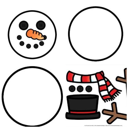 Build A Snowman Free Printables Snowman Crafts Preschool Snowmen Activities Snowman Crafts