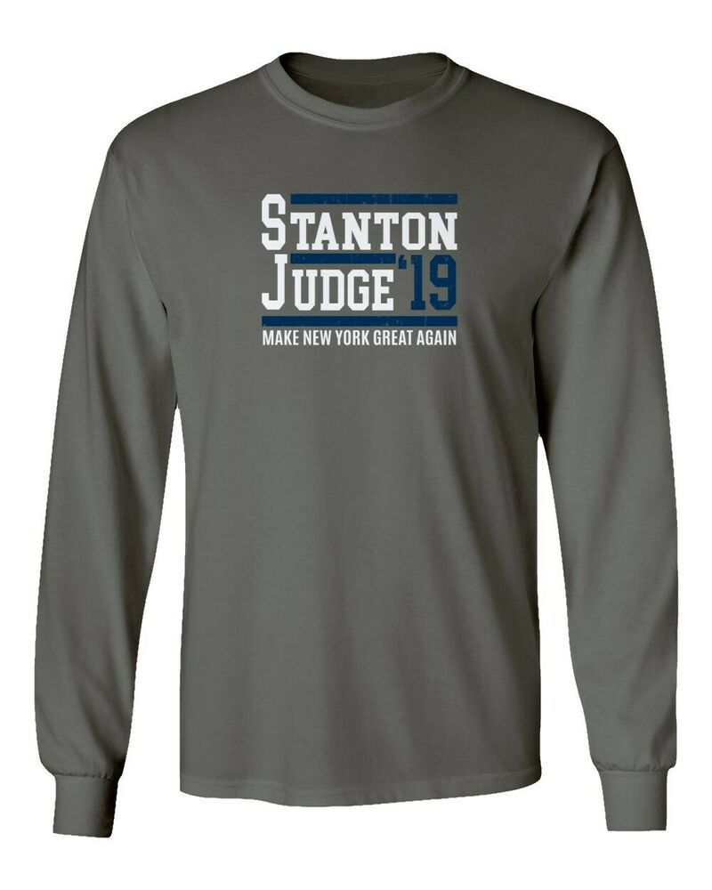 c16a2970c Giancarlo Stanton Aaron Judge New York Yankees 2019 Long Sleeve T-Shirt   fashion
