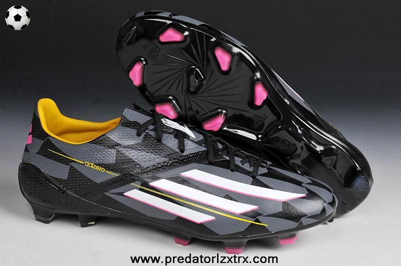 ff141b4fc4a Buy Adidas F50 AdiZero (Black White Pink) TRX FG Cheap Football Boots