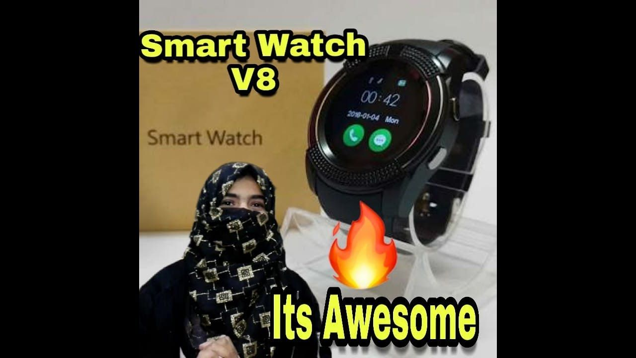 Smart Watch Unboxing And Review Of Smartwatch V8 | BS TechTuber