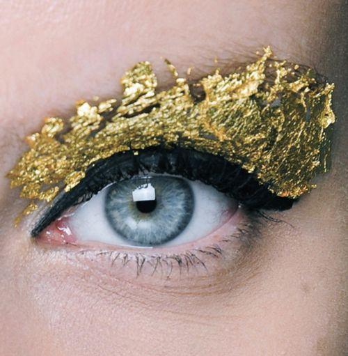 foil + blue eyes