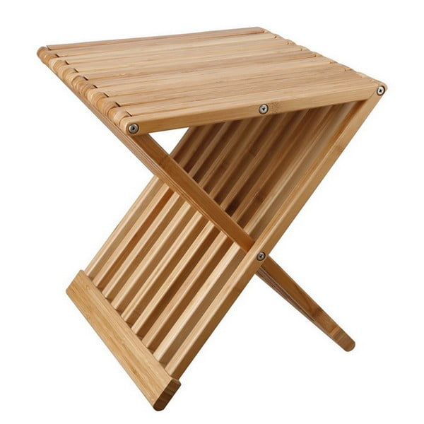 Tiger Osszecsukhato Taroloasztal Uloke Bambuszbol Tomasucci Bonami Coffee Table Pouf Folding Coffee Table Simple Coffee Table