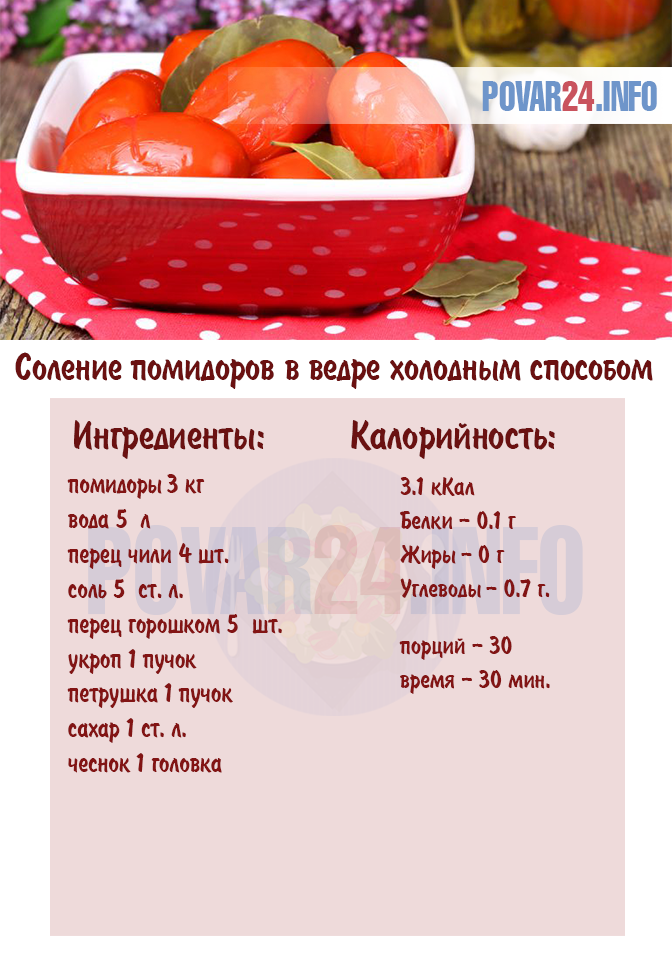 малосолить помидоры рецепт