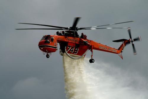 Fire fighting Erickson Air-Crane