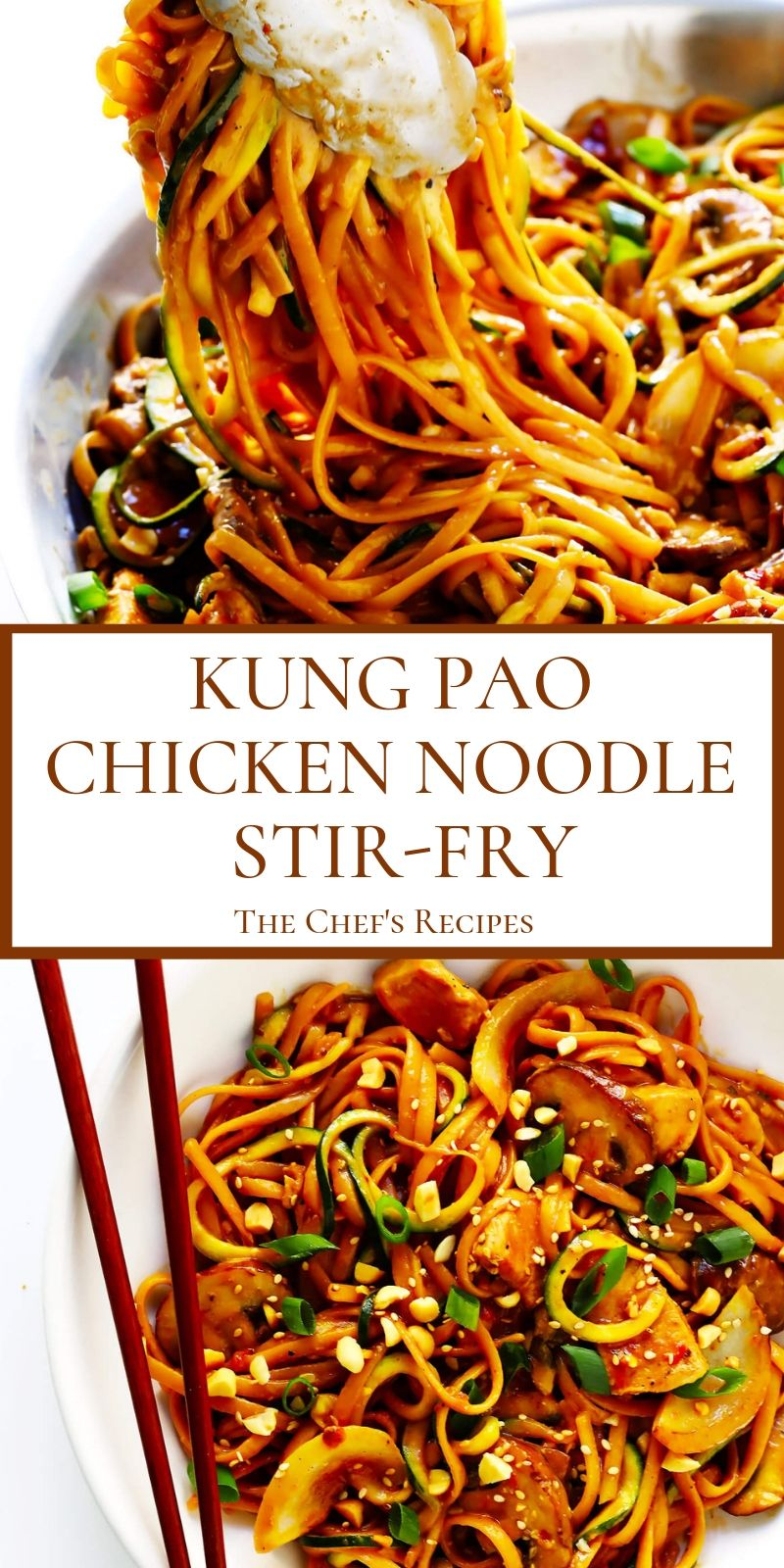 Photo of KUNG PAO CHICKEN NOODLE STIR-FRY