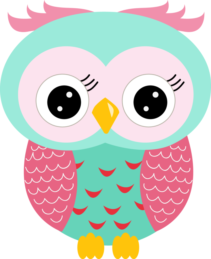 cute owl clip art - 732×900