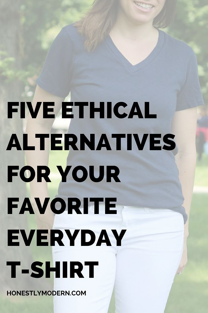 When your closet staples need a little refreshing, here are 5 brands that will re-energize your t-shirt style simply and ethically.  http://www.honestlymodern.com/5-ethical-alternatives-for-your-favorite-everyday-t-shirt/?utm_campaign=coschedule&utm_source=pinterest&utm_medium=Honestly%20Modern&utm_content=5%20Ethical%20Alternatives%20For%20Killer%20Casual%20Style