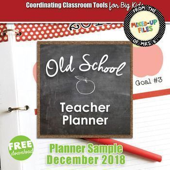 Teacher Planner Free Sample #teacherplannerfree Try out my classic teacher planner with this free sample: a calendar for December 2018. If you're not sure whether a printable planner is right for you, this is your chance to see how easy it is to use. Personalize the editable calendar labels, print the monthly and weekly planner pages (double-side... #teacherplannerfree Teacher Planner Free Sample #teacherplannerfree Try out my classic teacher planner with this free sample: a calendar for Decembe #teacherplannerfree