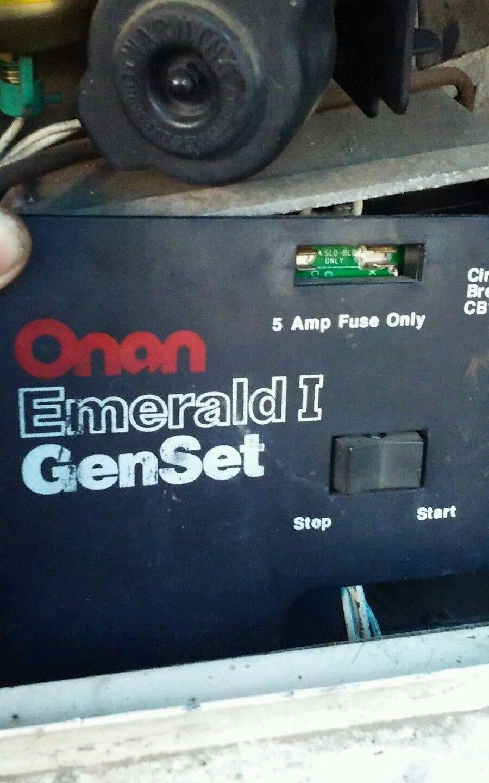Onan Emerald 1 GenSet #genset #emerald #onan | Camper parts ... on onan emerald 1 parts, onan generator remote switch wiring, onan emerald 1 generator,