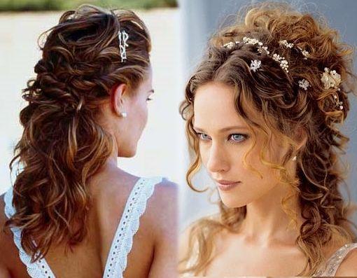 Peinados Recogidos Para Cabellos Rizados Buscar Con Google