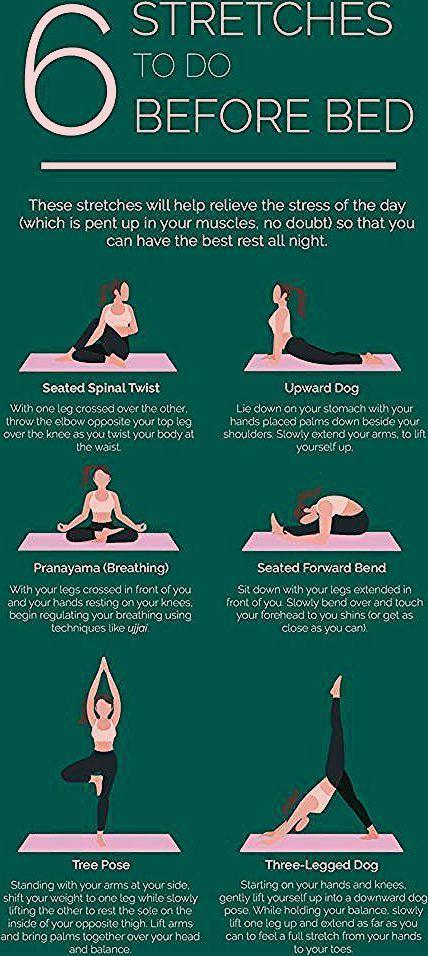 Stretches to do before bed-ad_1]  Stretches to do before bed  6 #Dehnübungen, die ihr machen sollten...