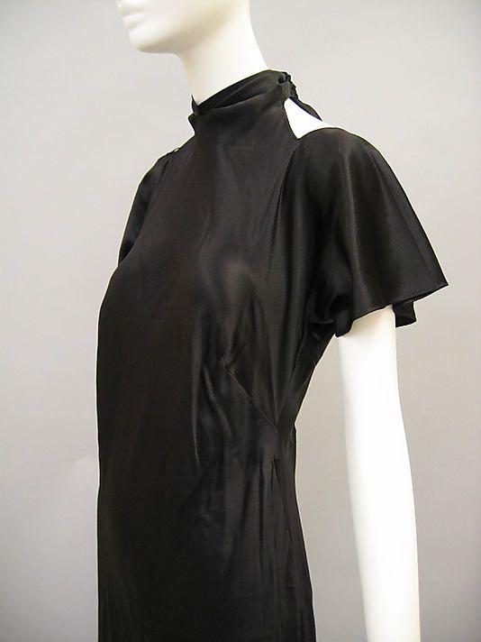 Evening dress, Madeleine Vionnet Date: ca. 1936