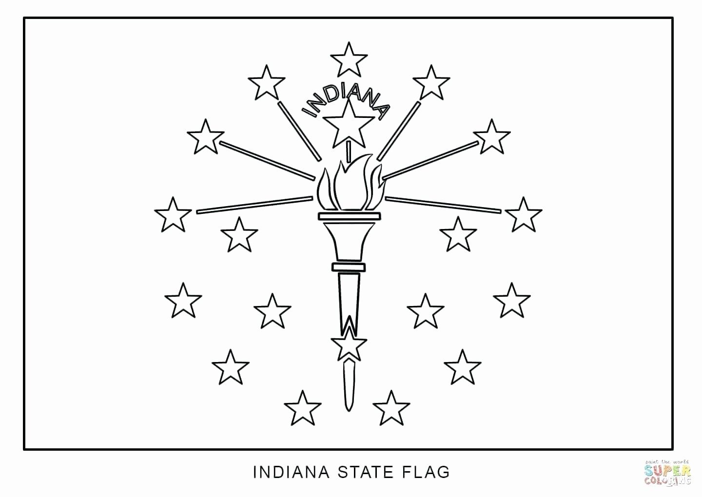 Iowa State Flag Coloring Page Beautiful Illinois State Flag