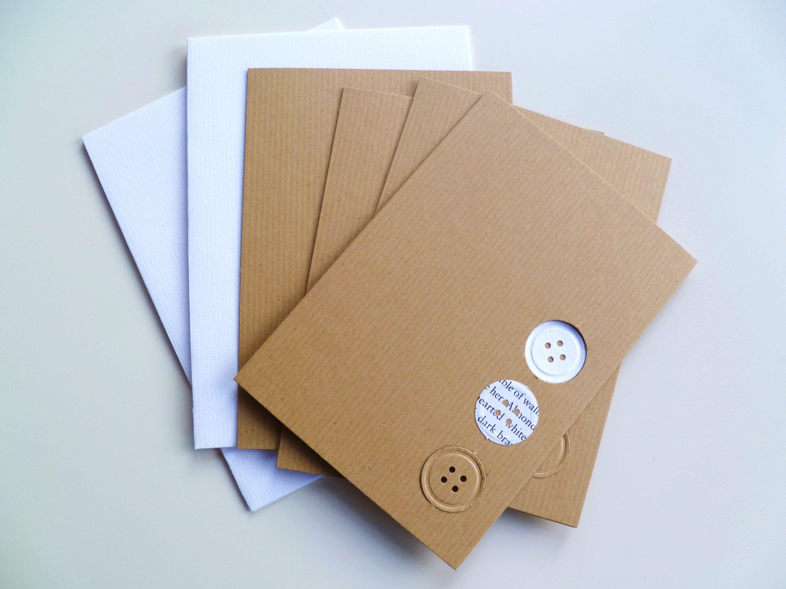 Easy peasy handmade notecards Card inspiration Pinterest Card