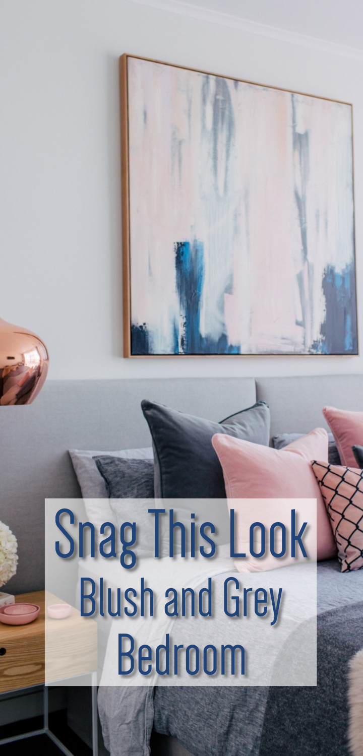 Snag this Look: Blush and Grey Bedroom images